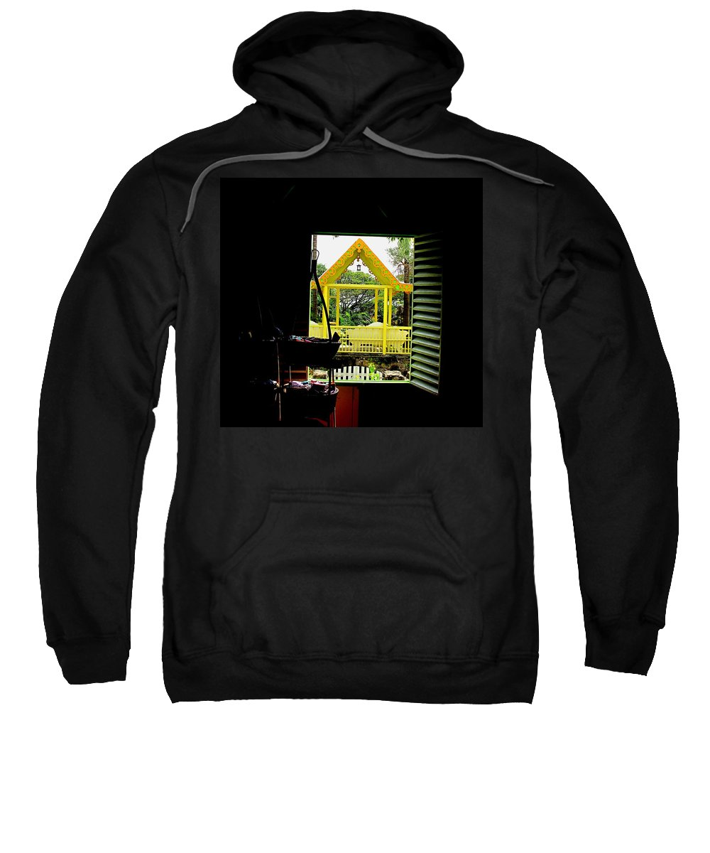 Romney Sweatshirt featuring the photograph Romney Manor by Ian MacDonald