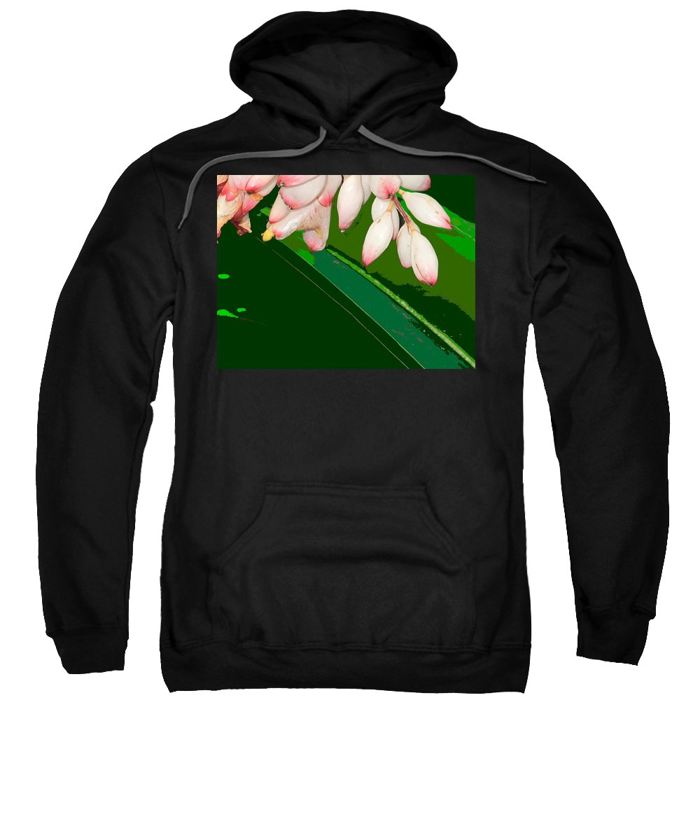 Flowers Sweatshirt featuring the photograph Romney White by Ian MacDonald