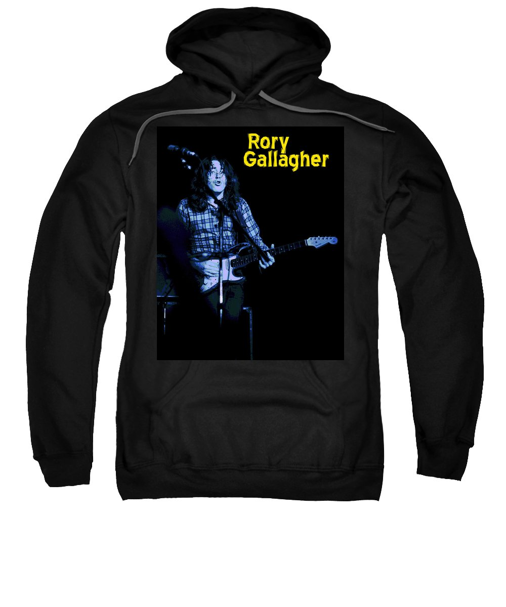 Rock Musicians Sweatshirt featuring the photograph Feeling Bought And Sold by Ben Upham