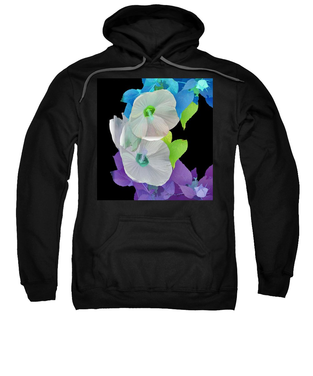 Rose Of Sharon Sweatshirt featuring the photograph Rose Of Sharon Painted by Ericamaxine Price