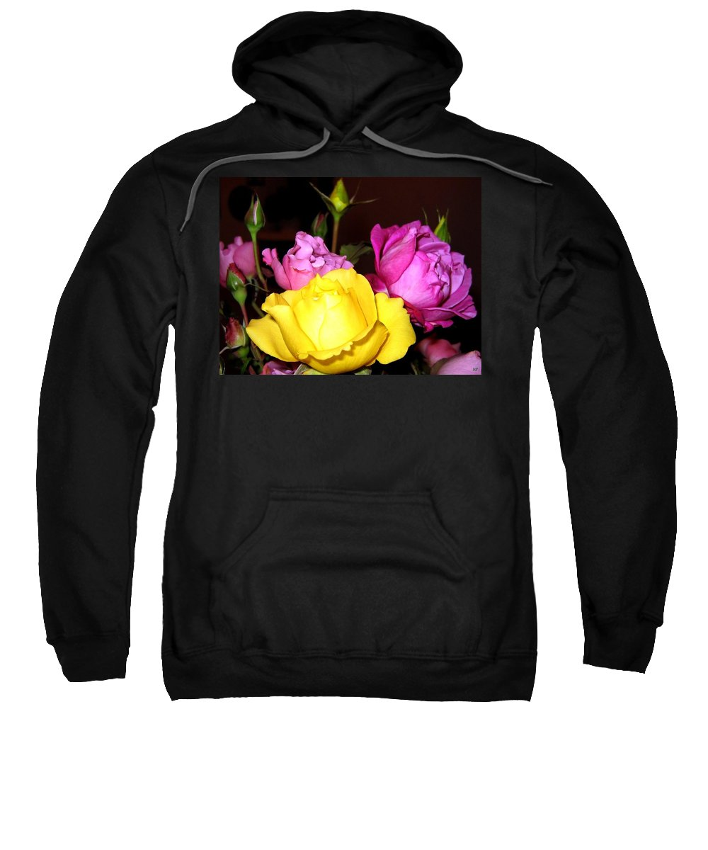 Roses Sweatshirt featuring the photograph Roses 4 by Will Borden