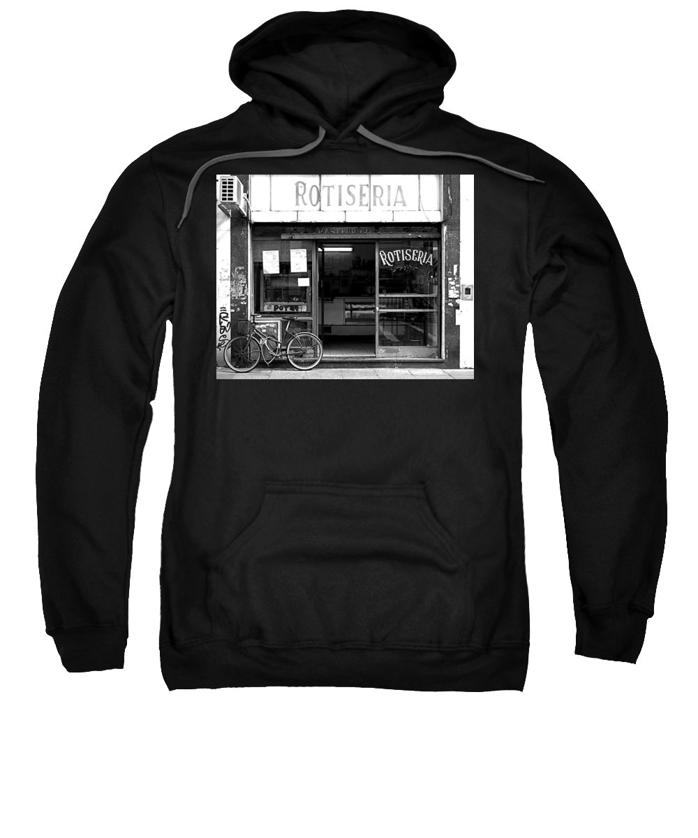 Buenos Aires Sweatshirt featuring the photograph Rotiseria by Osvaldo Hamer