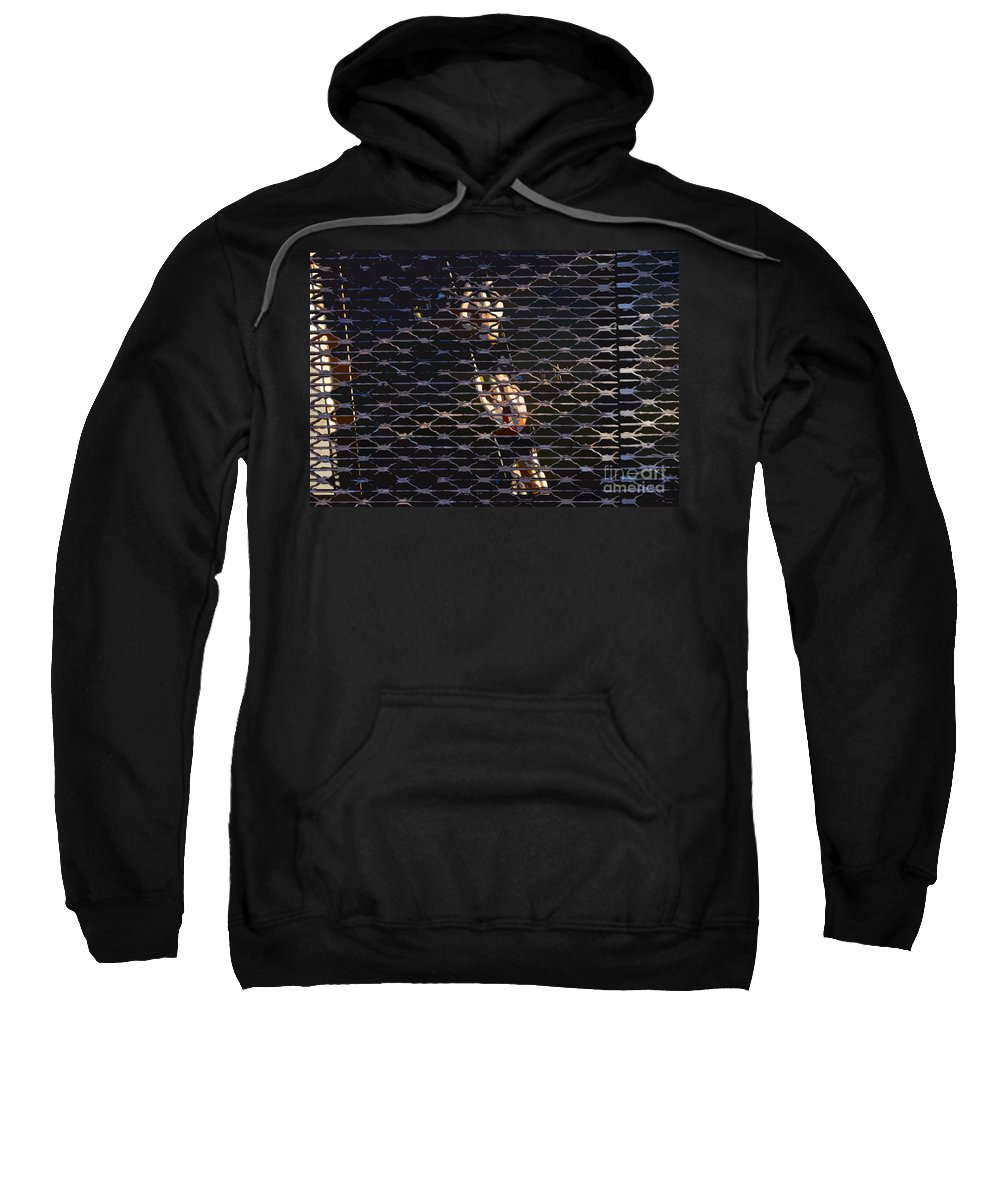 Sculling Sweatshirt featuring the painting Rowing Through The Grate by David Lee Thompson