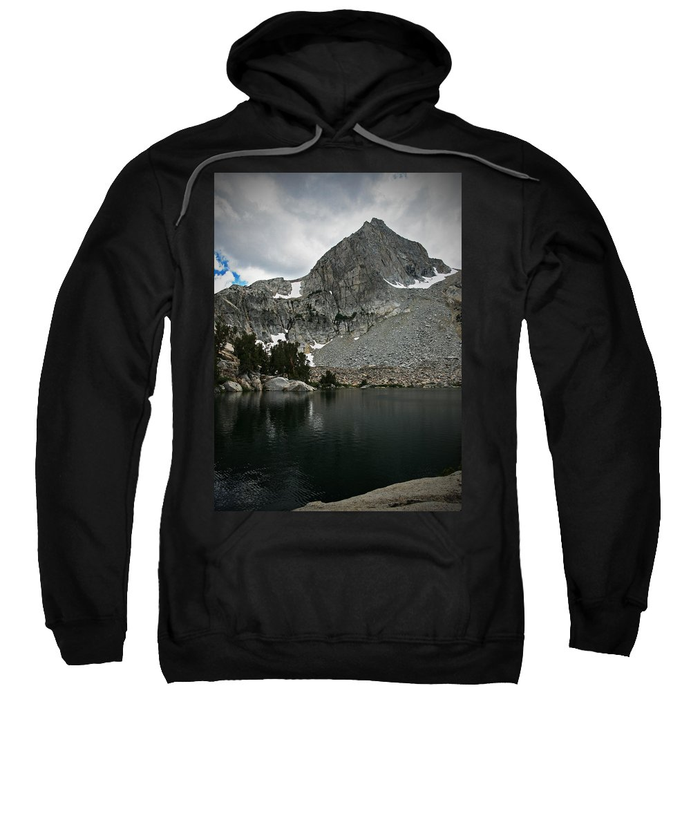 Sweatshirt featuring the photograph Rugged Territory by Chris Brannen