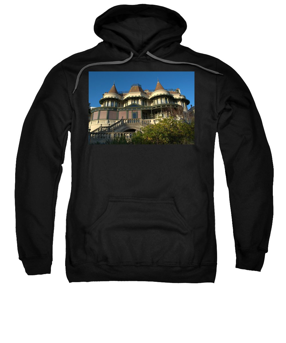 Russell Cotes Sweatshirt featuring the photograph Russell Cotes Gallery And Museum by Chris Day