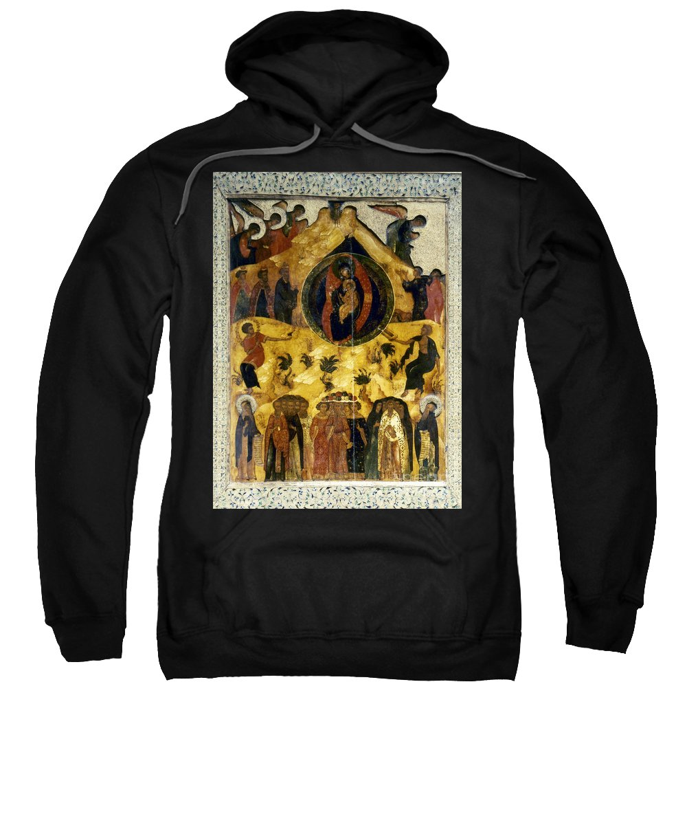 16th Century Sweatshirt featuring the photograph Russian Icon by Granger