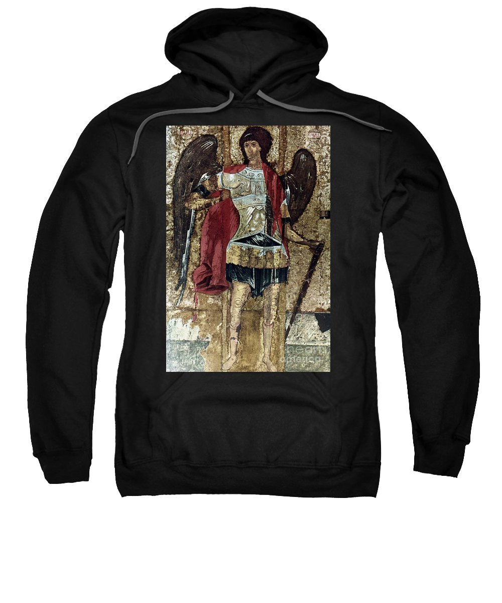 15th Century Sweatshirt featuring the photograph Russian Icons: Michael by Granger