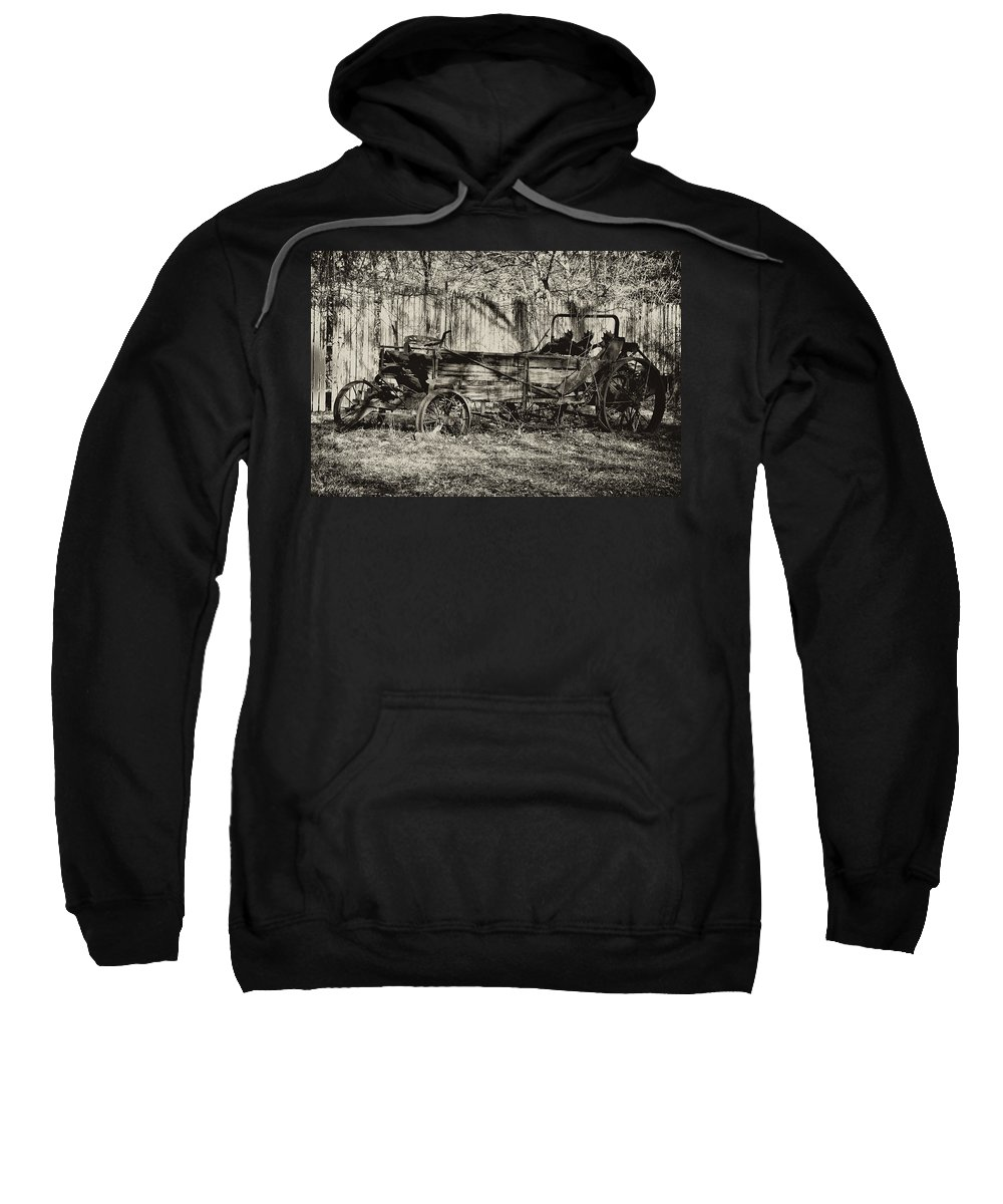 Farm Sweatshirt featuring the photograph Rust Bucket by Bill Cannon
