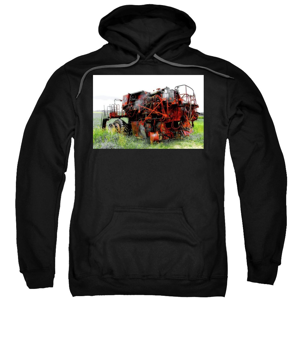 Photograph Sweatshirt featuring the photograph Rust Is Beautiful by Anthony Djordjevic