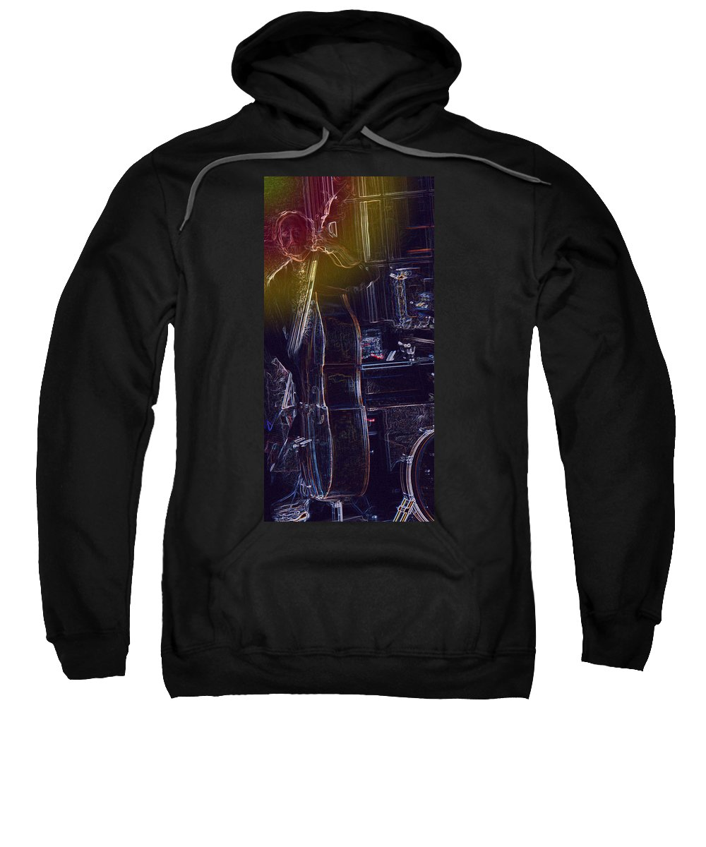Jazz Sweatshirt featuring the photograph Rythmn by Ian MacDonald