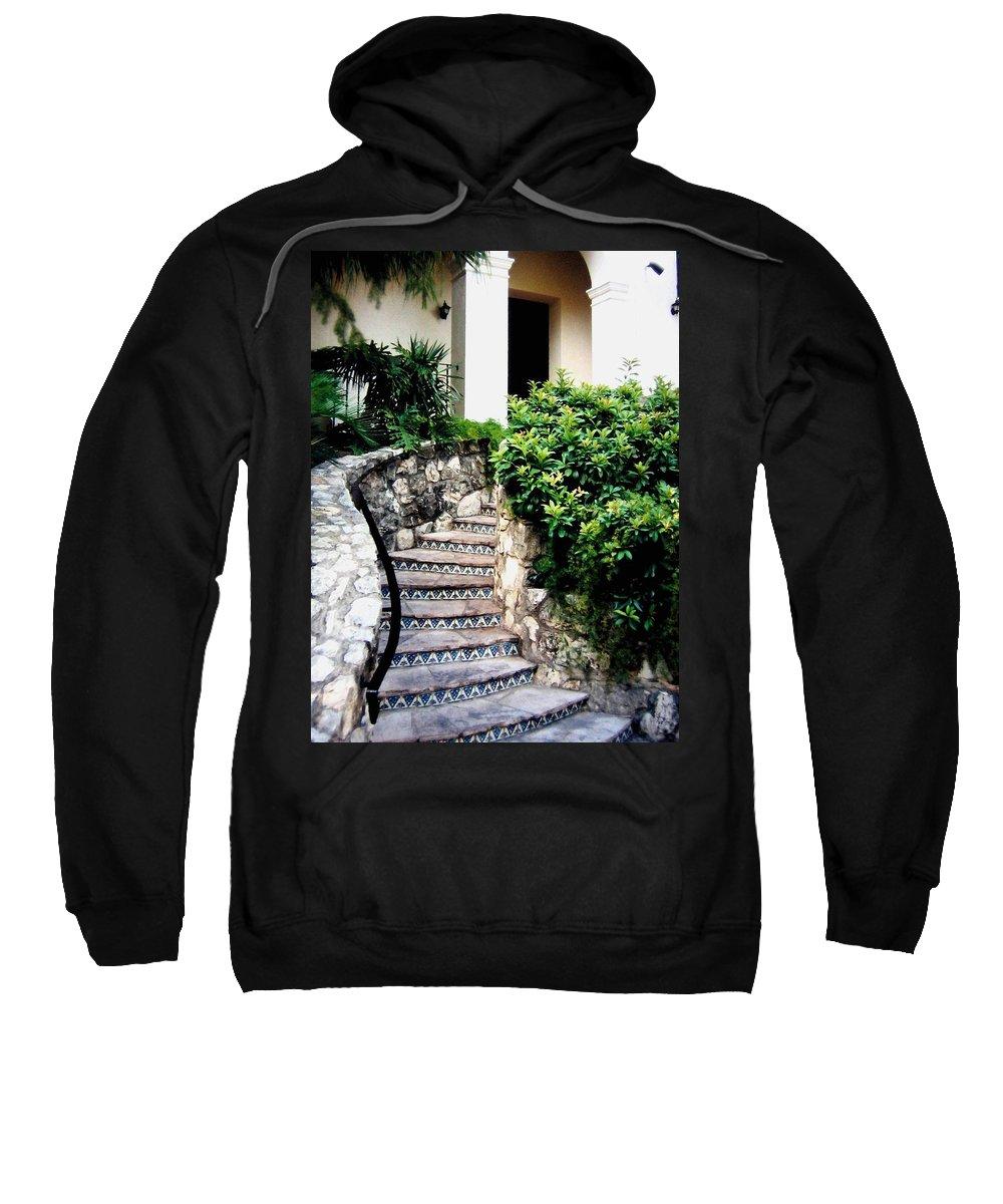 San Antonio Stairway Sweatshirt featuring the photograph San Antonio Stairway by Will Borden