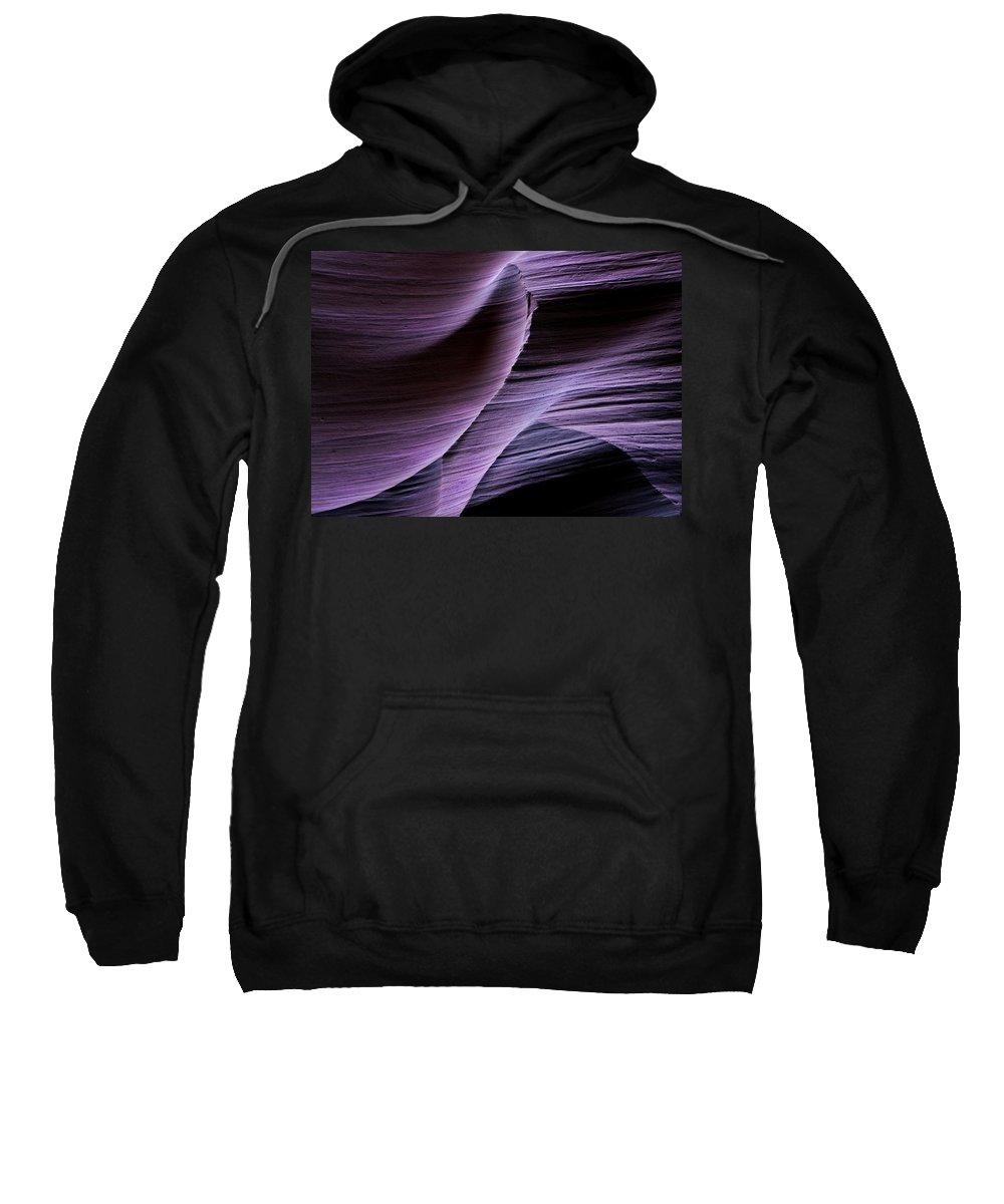 Slot Sweatshirt featuring the photograph Sandstone Symphony by Mike Dawson
