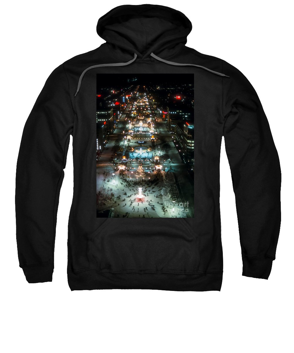 Ice Festival Sweatshirt featuring the photograph Sapporo Ice Festival by Bob Phillips