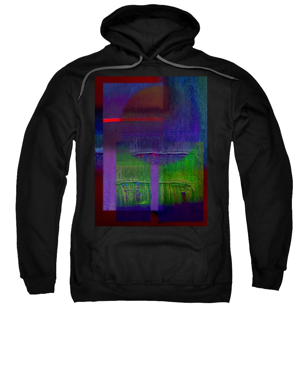 Landscape Sweatshirt featuring the painting Saturn by Charles Stuart