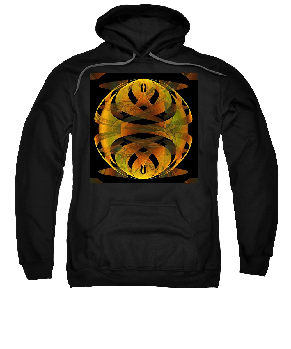 Digital Art Sweatshirt featuring the digital art Scarab by Amanda Moore