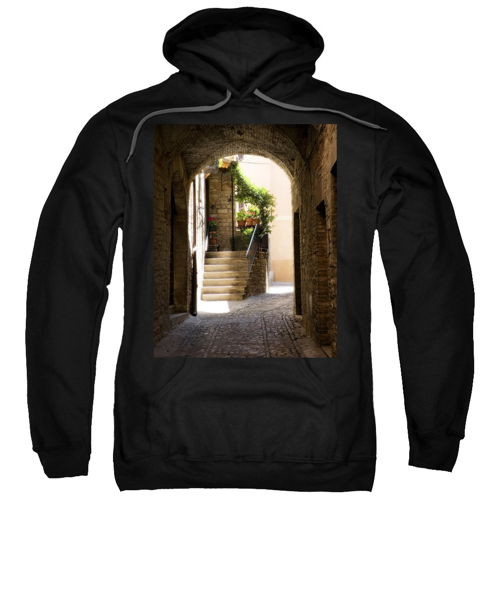 Italy Sweatshirt featuring the photograph Scenic Archway by Marilyn Hunt