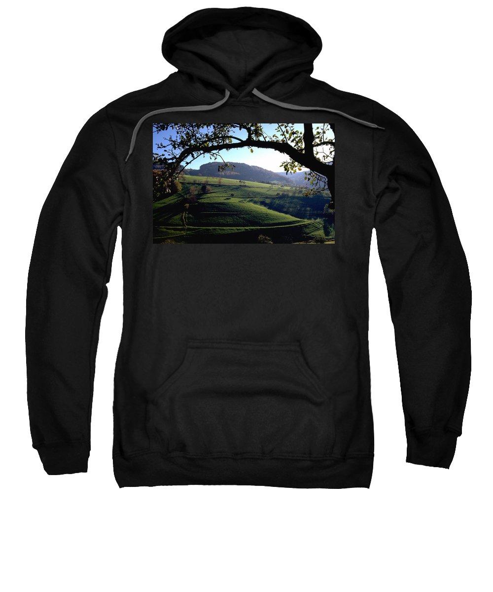 Schwarzwald Sweatshirt featuring the photograph Schwarzwald by Flavia Westerwelle