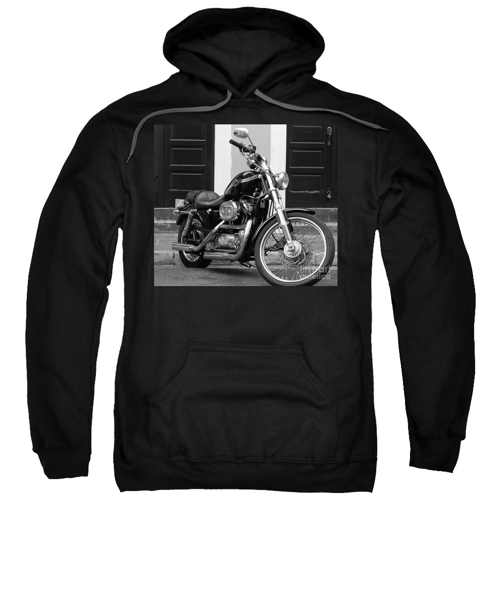 Motorcycle Sweatshirt featuring the photograph Screamin Eagle by Debbi Granruth