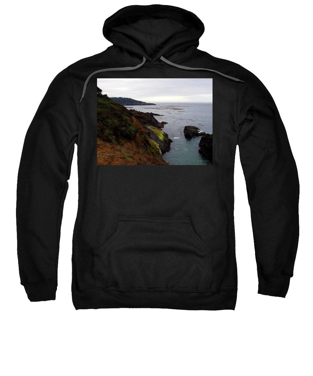 Seaside Sweatshirt featuring the photograph Seaside by Deborah Crew-Johnson