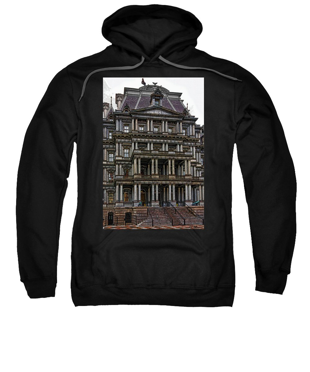 Building Sweatshirt featuring the photograph Second Empire by Christopher Holmes