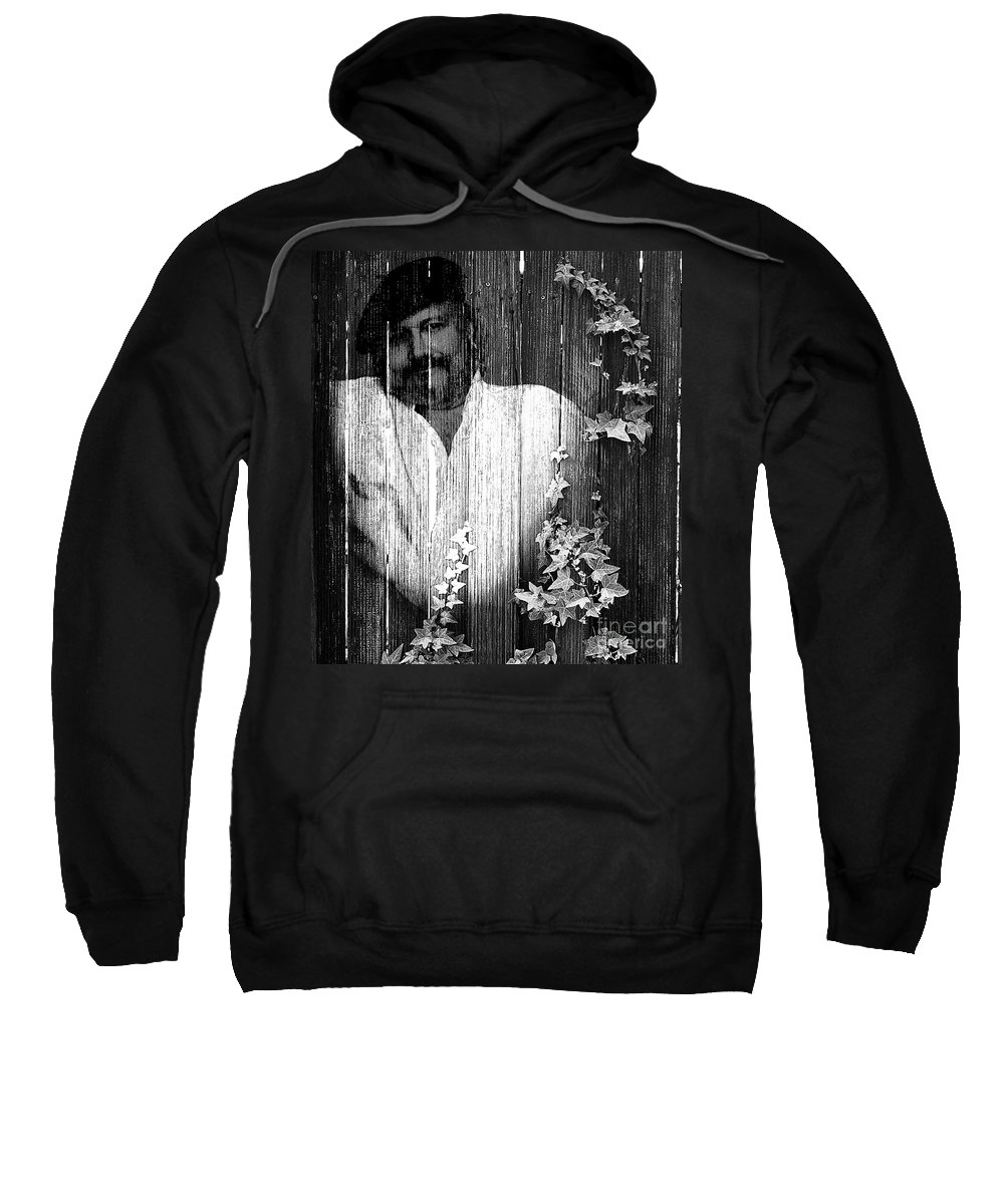Clay Sweatshirt featuring the photograph Self Portrait by Clayton Bruster