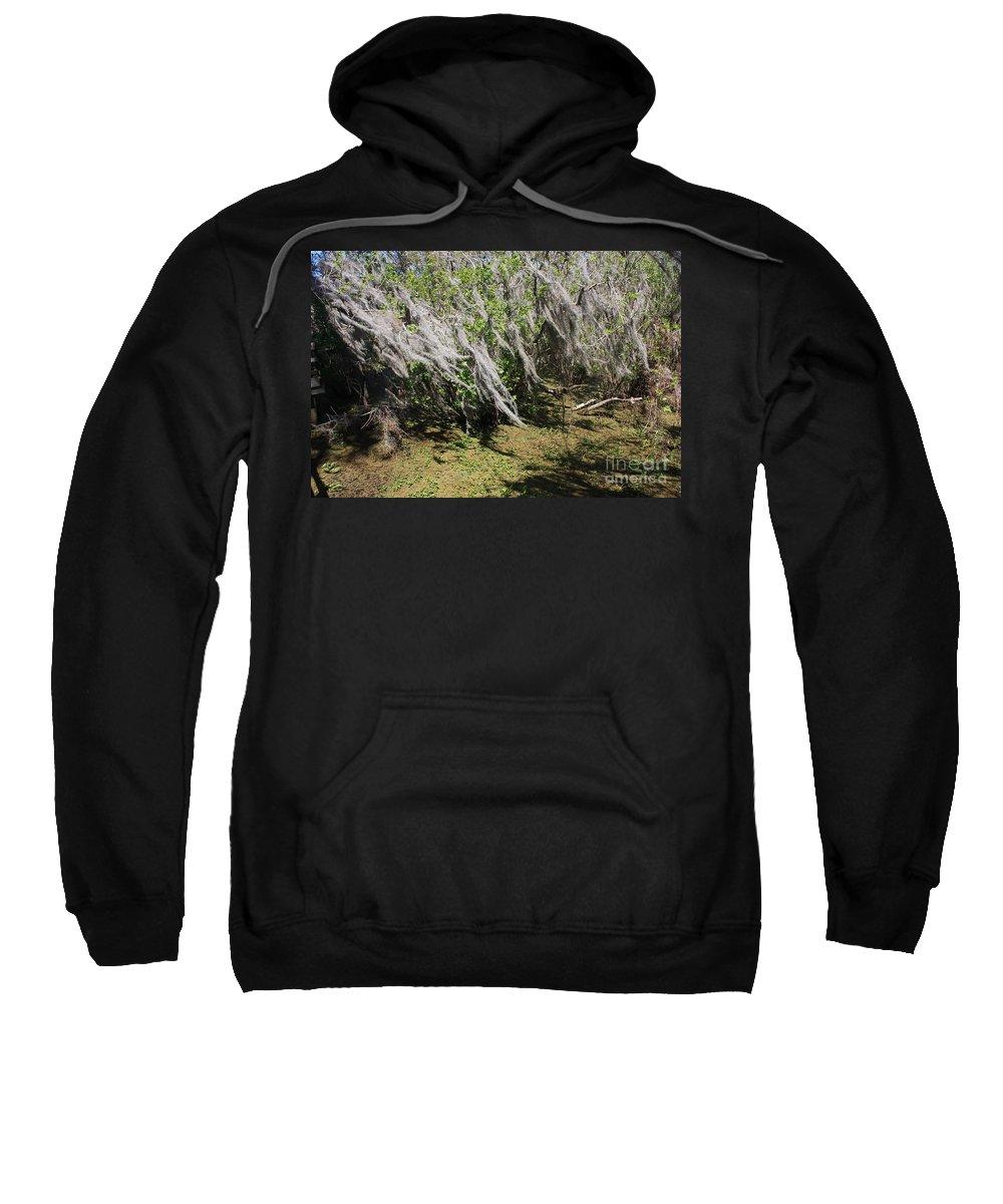 Windy Sweatshirt featuring the photograph Seminole Wind by Carol Groenen