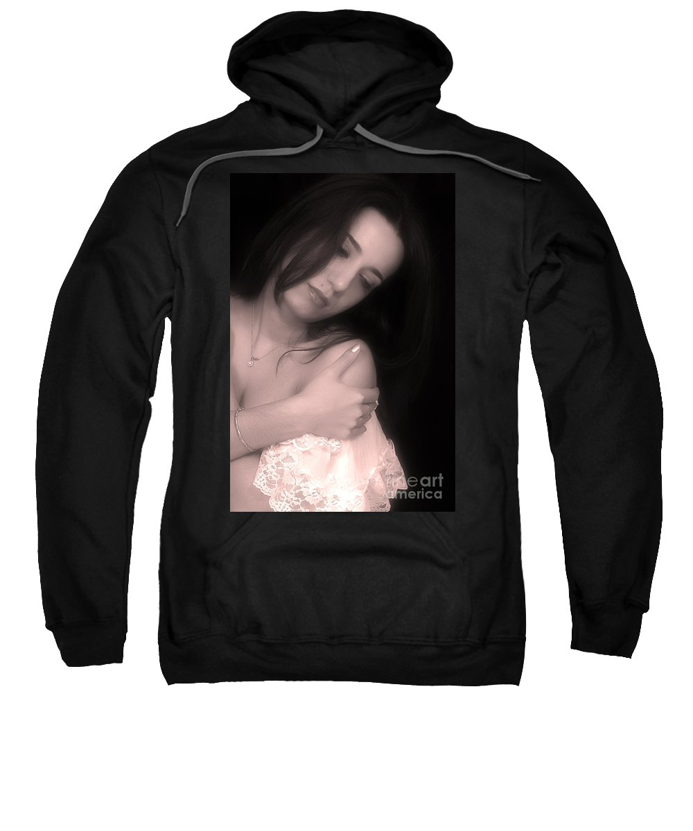Clay Sweatshirt featuring the photograph Sensual Lmorn by Clayton Bruster