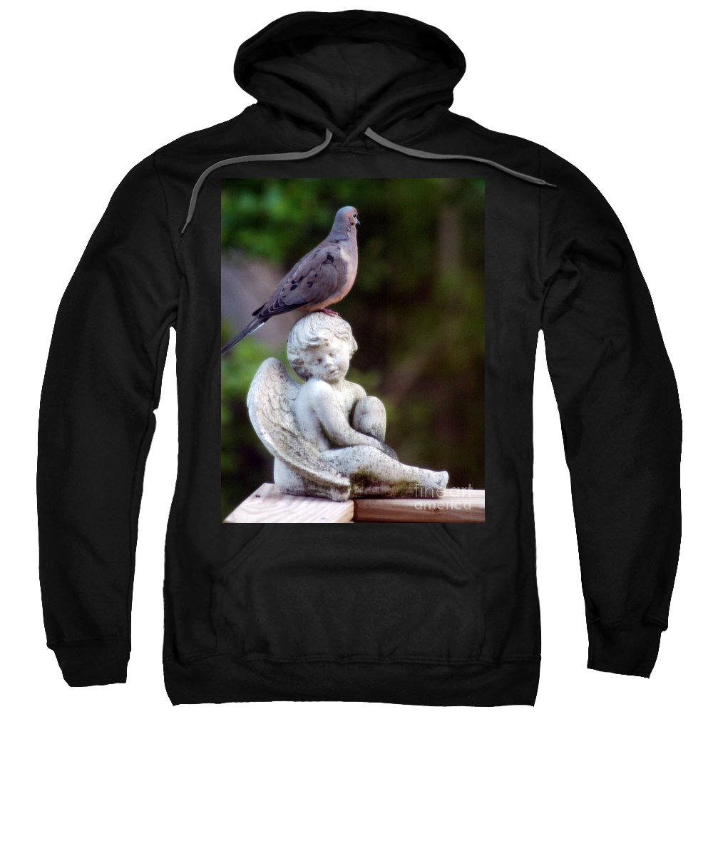 Clay Sweatshirt featuring the photograph Sent From Heaven by Clayton Bruster