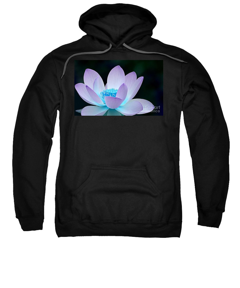 Flower Sweatshirt featuring the photograph Serene by Jacky Gerritsen