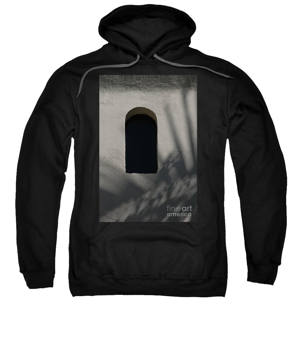 Window Sweatshirt featuring the photograph Shadows On The Wall by Michael Ziegler