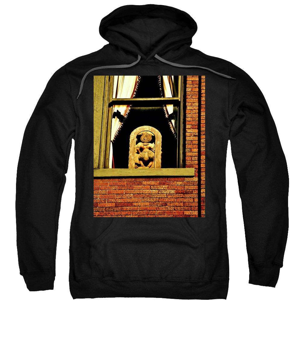 Window Sweatshirt featuring the photograph Shake Shake Shake by Frances Hattier