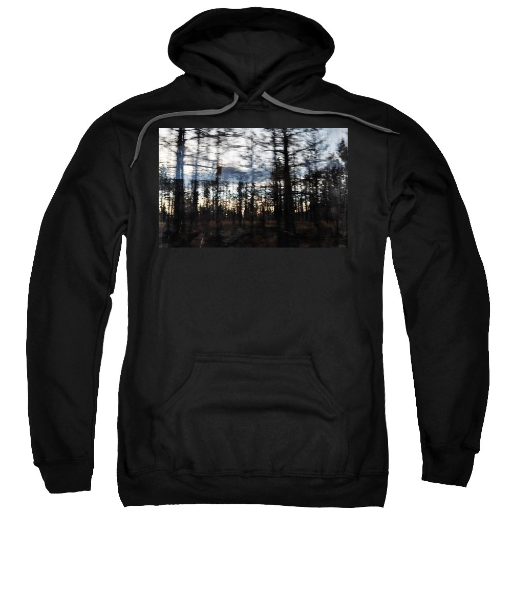 California Sweatshirt featuring the photograph Shasta Trinity National Forest by Kyle Hanson