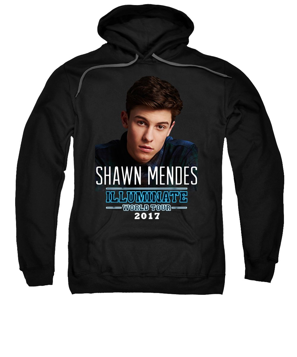 Shawn Digital Art Hooded Sweatshirts T-Shirts