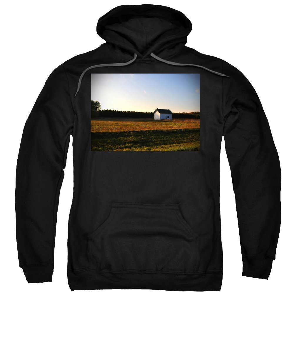 Shed Sweatshirt featuring the photograph Shed by Tim Nyberg