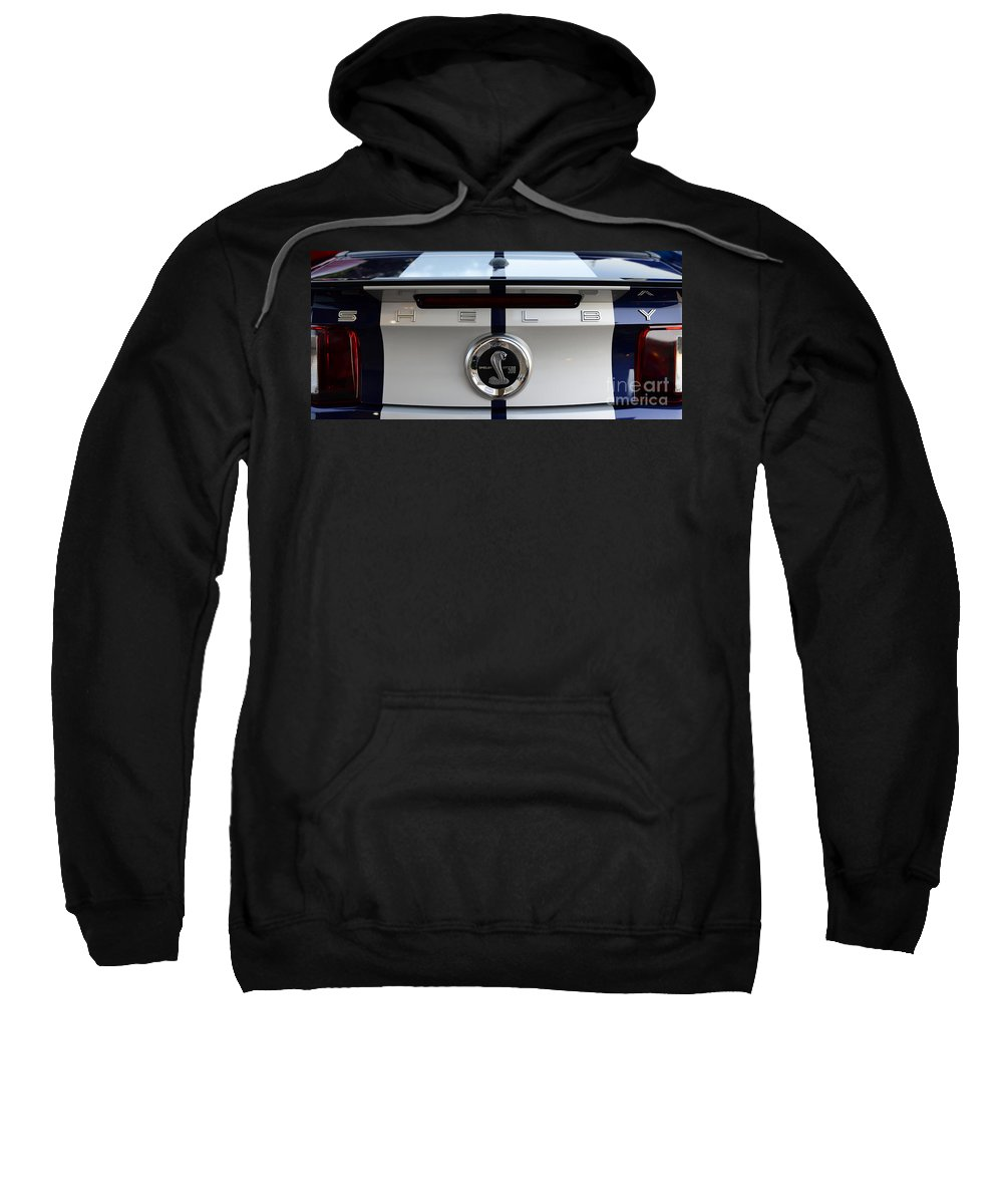 Shelby Gt500 Sweatshirt featuring the photograph Shelby Gt500 by Paul Ward
