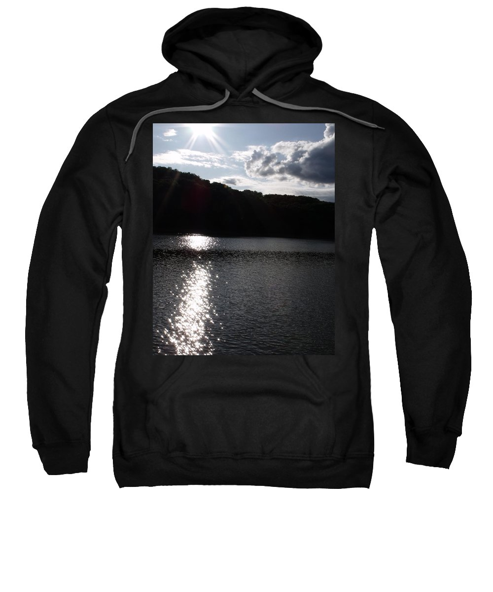 Trees Sweatshirt featuring the photograph Shimmer by Ed Smith