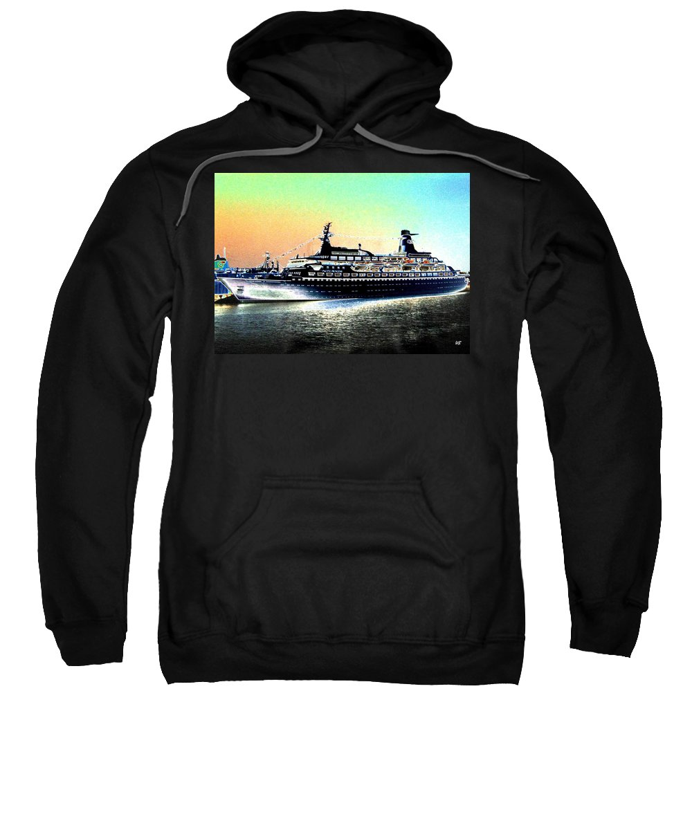 Photo Design Sweatshirt featuring the digital art Shipshape 1 by Will Borden