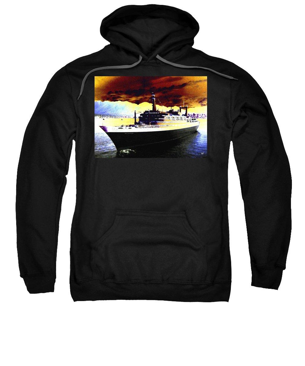 S S Rotterdam Sweatshirt featuring the digital art Shipshape 3 by Will Borden