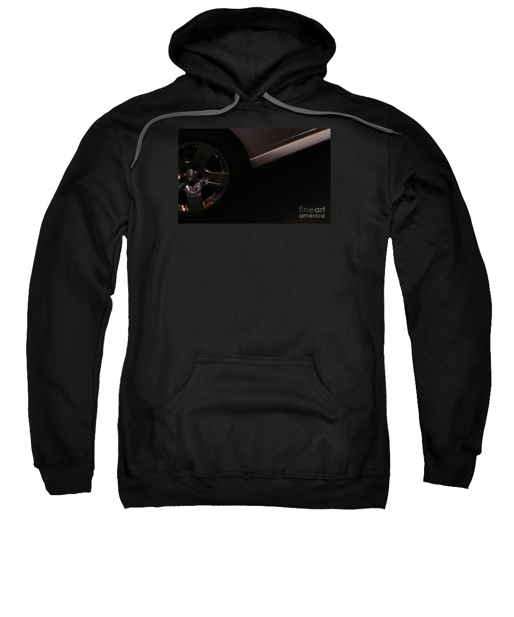 Automobile Sweatshirt featuring the photograph Showroom by Linda Shafer