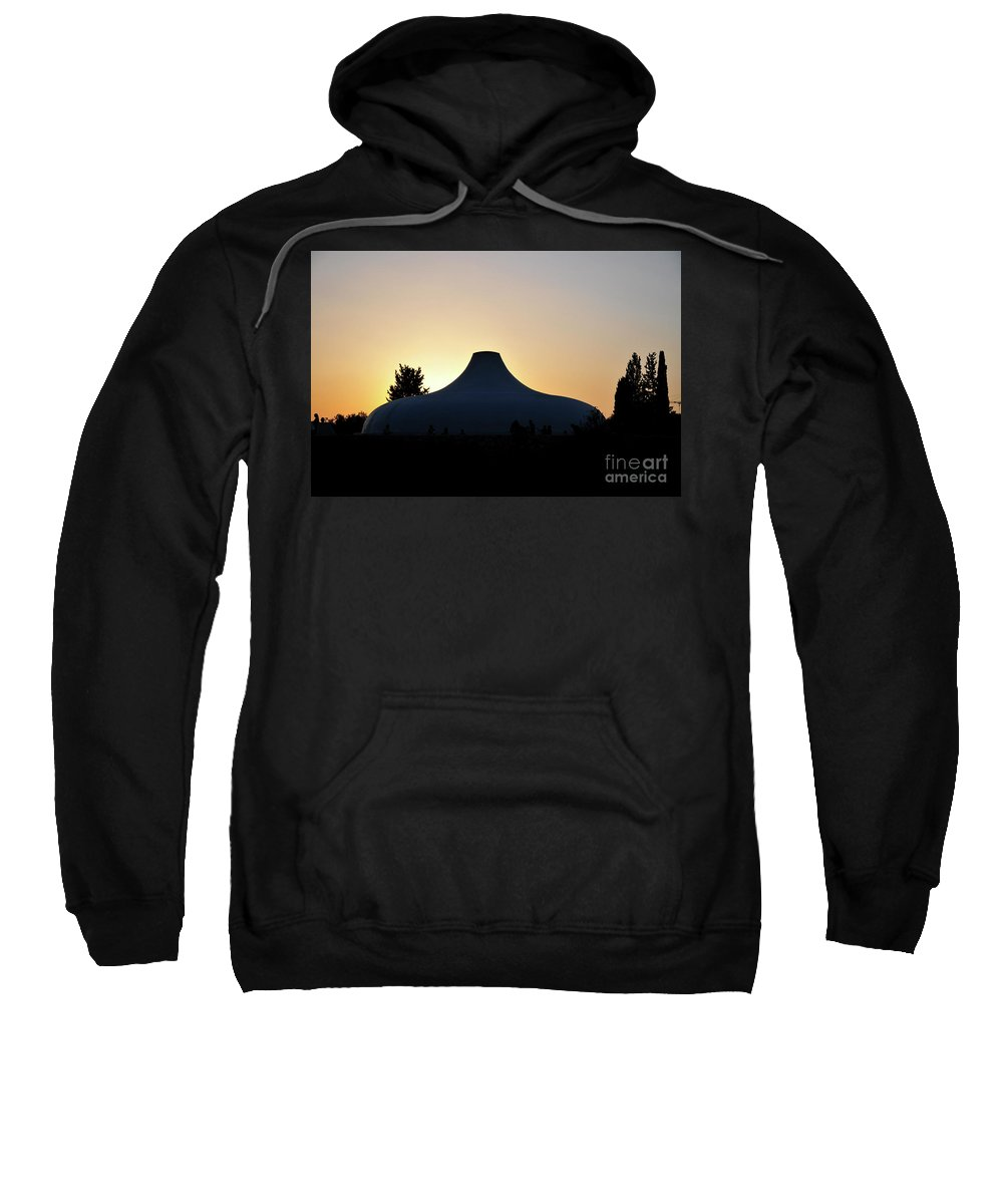 Jerusalem Sweatshirt featuring the photograph Shrine Of The Book by Shay Levy