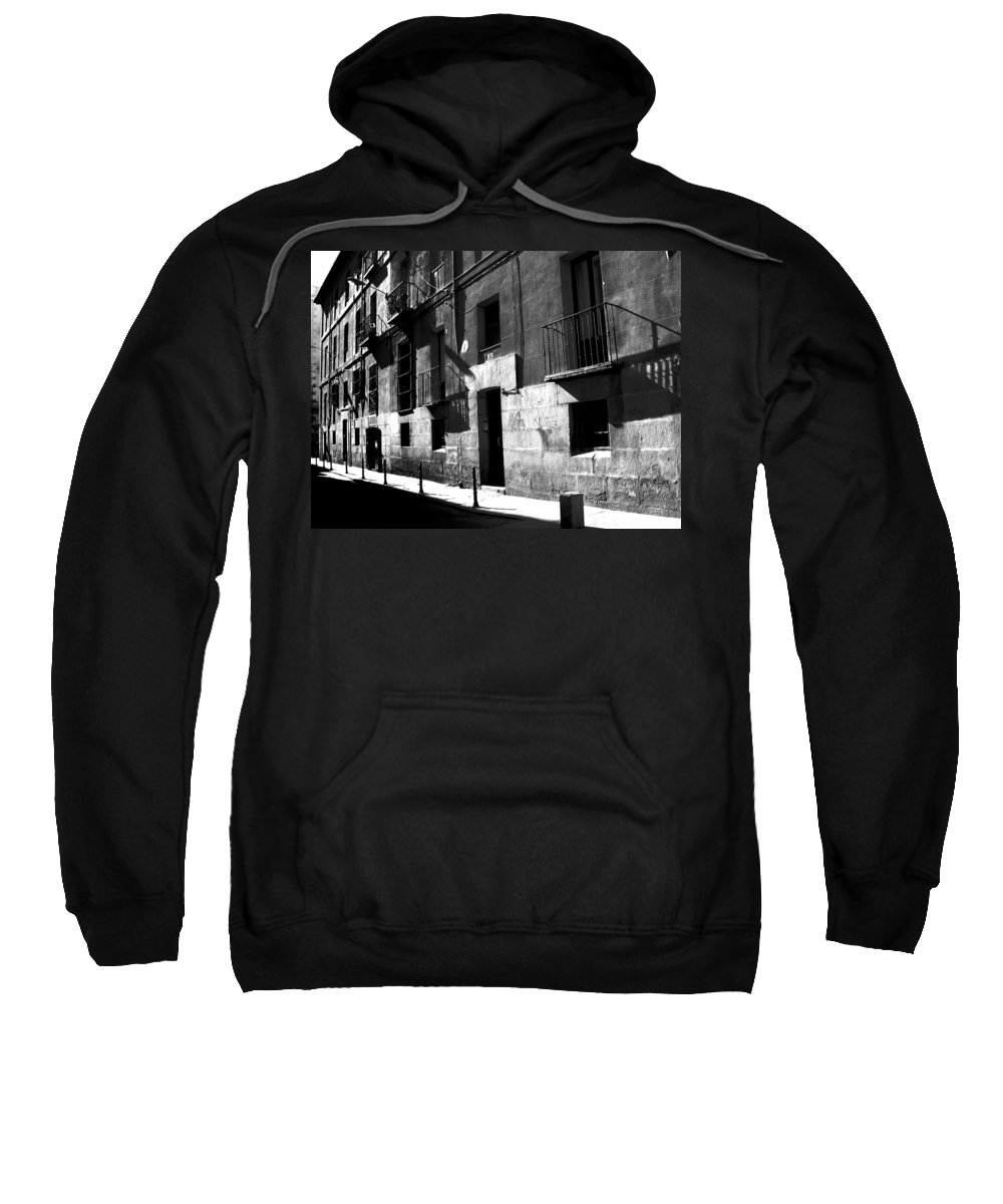 Madrid Sweatshirt featuring the photograph Siesta by Osvaldo Hamer