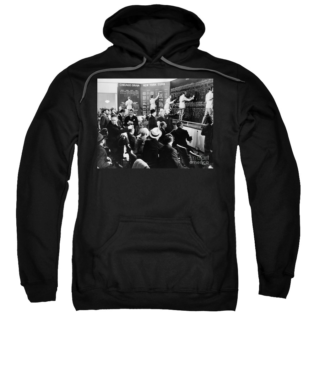 -banks & Banking- Sweatshirt featuring the photograph Silent Still: Banking by Granger