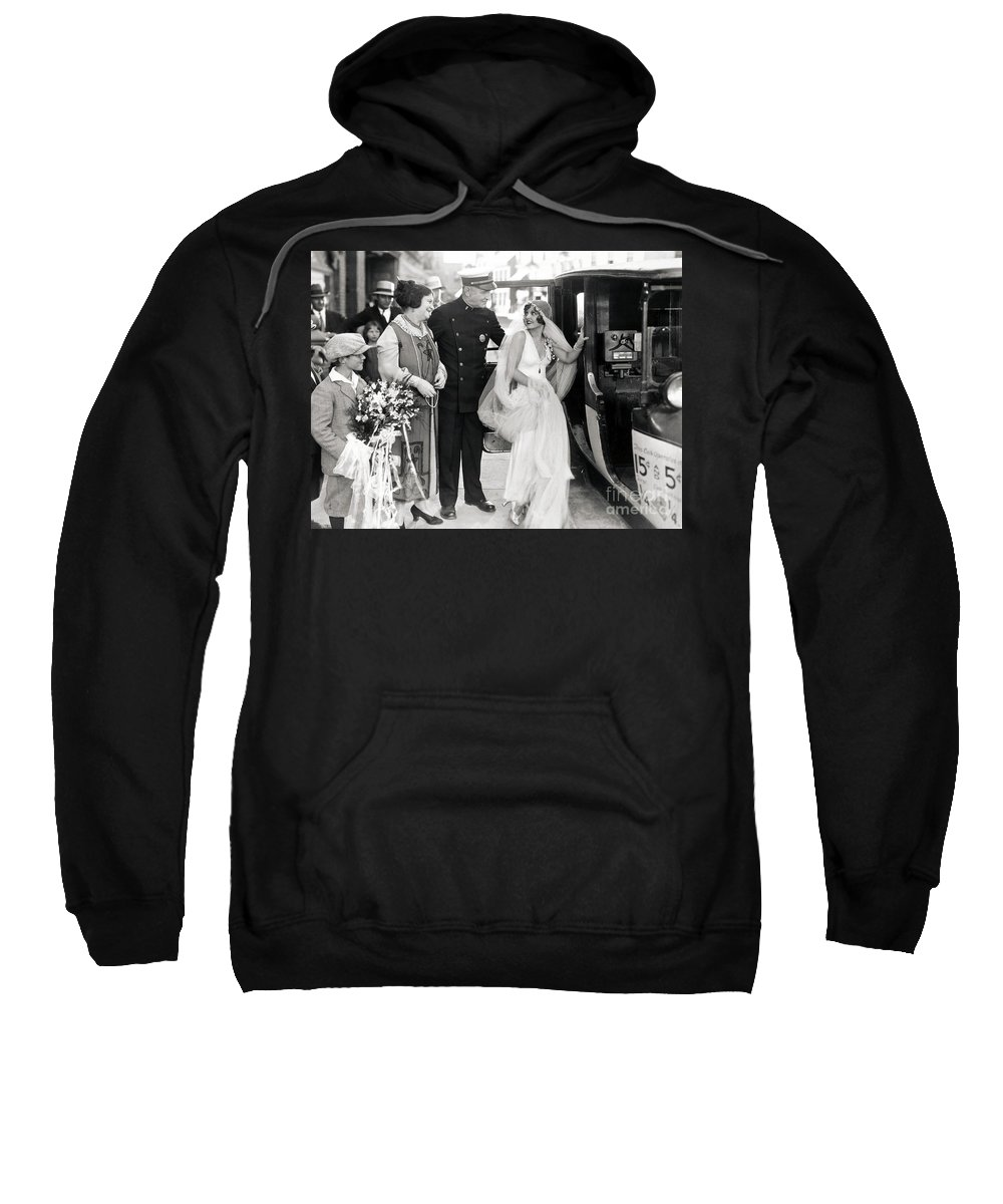 -weddings & Gowns- Sweatshirt featuring the photograph Silent Still: Do Your Duty by Granger