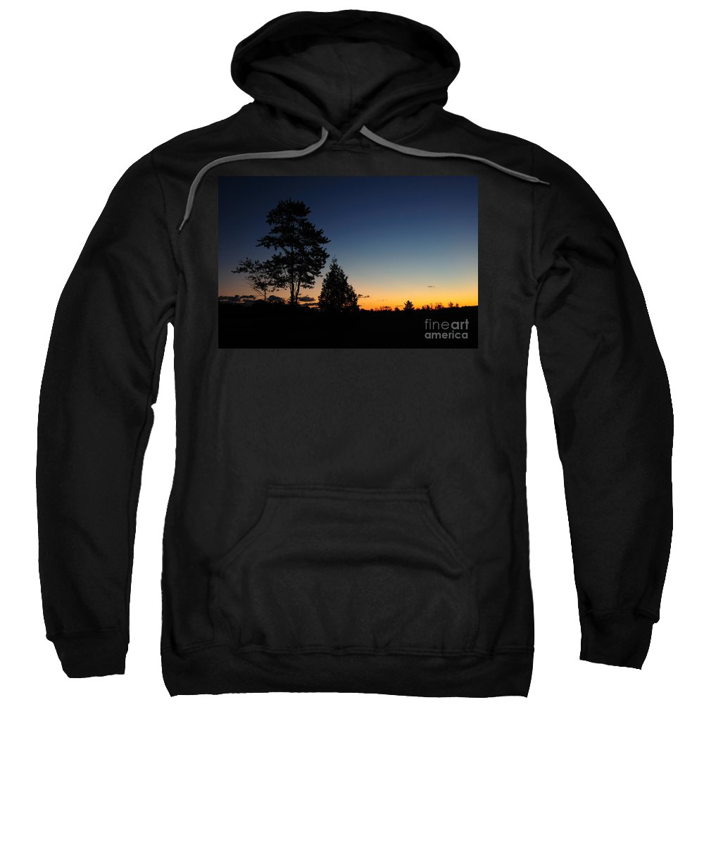 Nature Sweatshirt featuring the photograph Silhouettes by Joe Ng