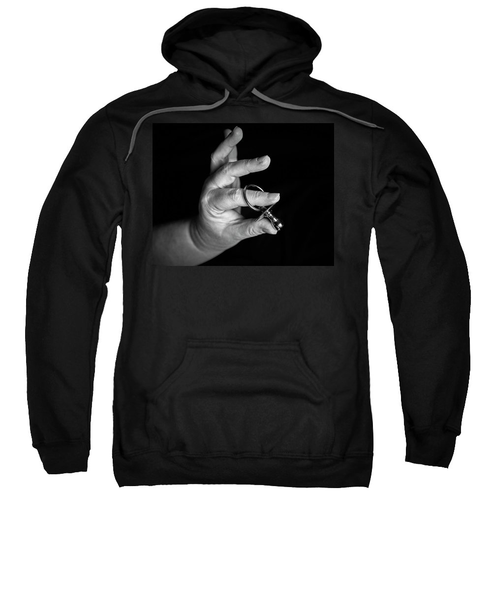 Baby Sweatshirt featuring the photograph Silver Dummy by Keith Elliott