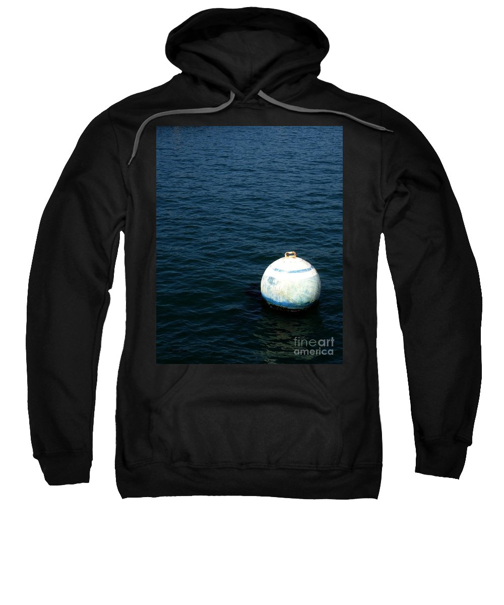 Seascape Sweatshirt featuring the photograph Sit And Bounce by Shelley Jones