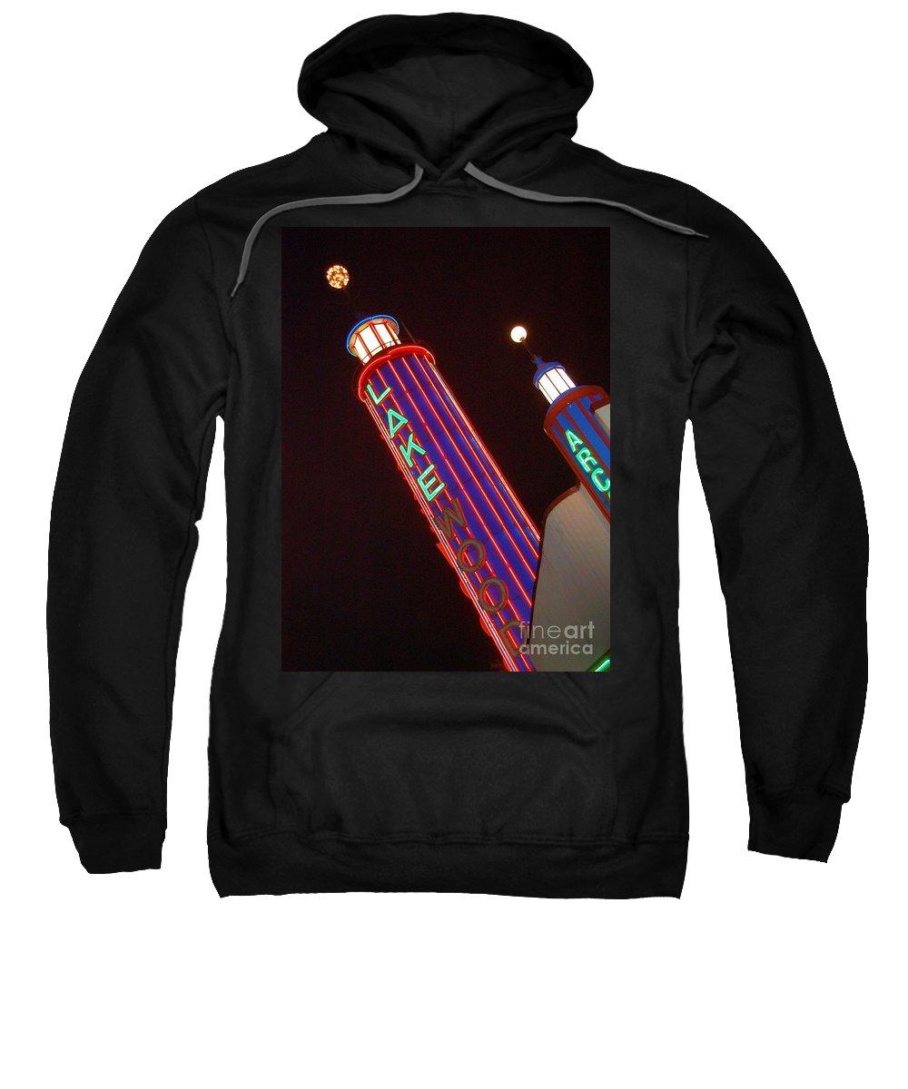Neon Sweatshirt featuring the photograph Sky Lights by Debbi Granruth