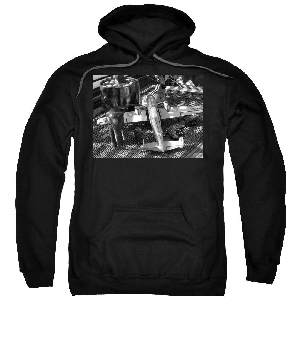 Still Life Sweatshirt featuring the photograph Skycruiser by Charles Stuart