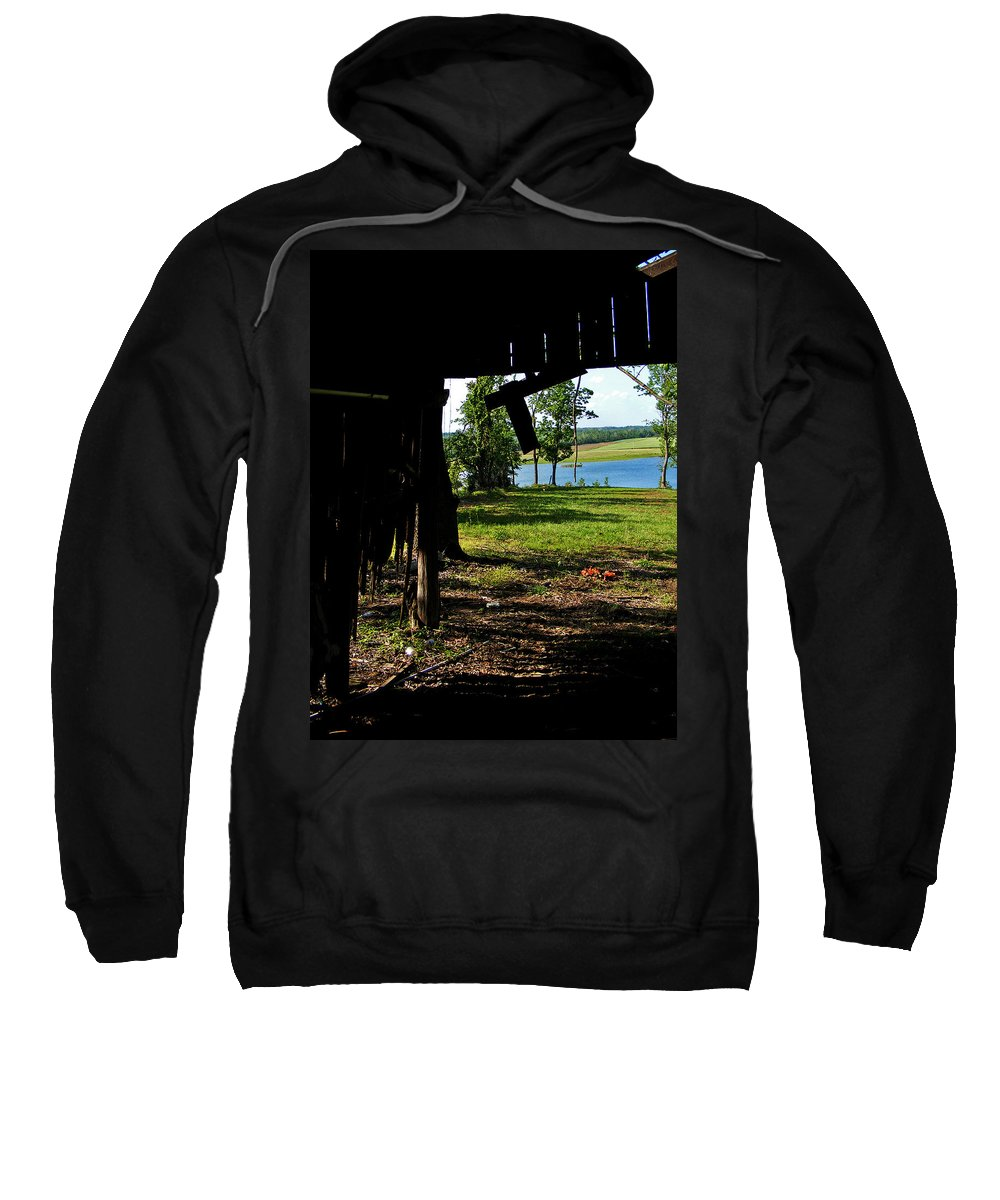 Landscape Sweatshirt featuring the photograph Skylights by Rachel Christine Nowicki