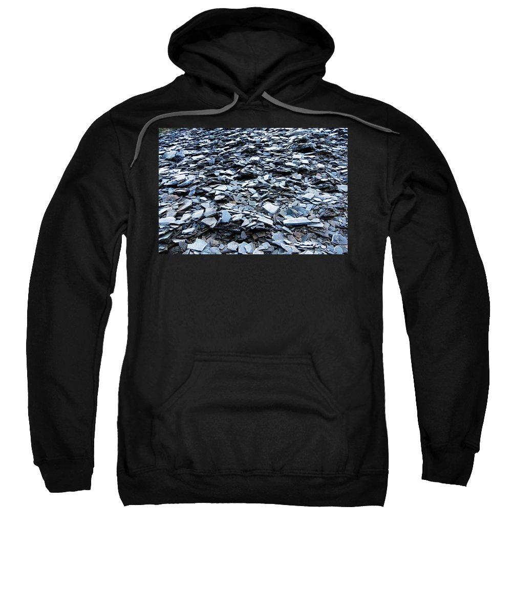 Jasper National Park Sweatshirt featuring the photograph Slate by Larry Ricker